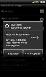 HTC S510e Desire S - bluetooth - headset, carkit verbinding - stap 8