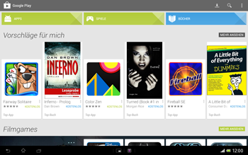 Sony Xperia Tablet Z LTE - Apps - Herunterladen - 4 / 21