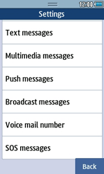 Samsung S5250 Wave 525 - Voicemail - Manual configuration - Step 5