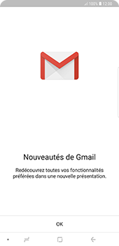 Samsung Galaxy Note9 - E-mail - 032a. Email wizard - Gmail - Étape 5