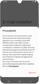 Samsung Galaxy A40 - E-mail - Handmatig instellen (outlook) - Stap 10