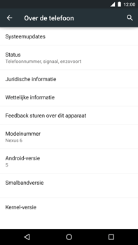 Motorola Nexus 6 - Software updaten - Update installeren - Stap 5