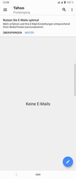 Sony Xperia 10 Plus - E-Mail - Konto einrichten (yahoo) - Schritt 5