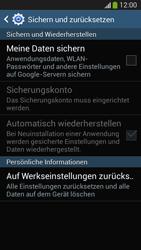 Samsung SM-G3815 Galaxy Express 2 - Gerät - Zurücksetzen auf die Werkseinstellungen - Schritt 6