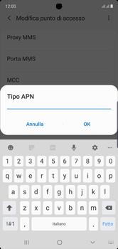 Samsung Galaxy Note 10 - Internet e roaming dati - Configurazione manuale - Fase 15