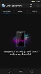 Sony Xperia Z - Software - Installazione degli aggiornamenti software - Fase 7