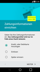 LG G4c - Apps - Konto anlegen und einrichten - 1 / 1