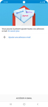 Samsung Galaxy S20 Ultra 5G - E-mail - 032a. Email wizard - Gmail - Étape 6