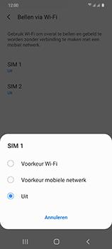Samsung Galaxy S20 5G Dual-SIM eSIM SM-G981B - Bellen - WiFi Bellen (VoWiFi) - Stap 7