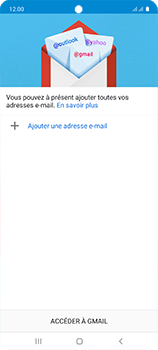 Samsung Galaxy A51 - E-mail - configuration manuelle - Étape 6