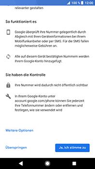 Sony Xperia XZ2 Premium - Apps - Konto anlegen und einrichten - Schritt 13