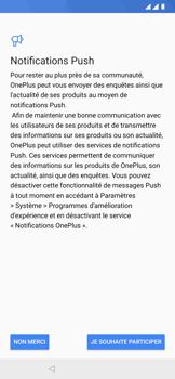 OnePlus 7 - Premiers pas - Configuration de l