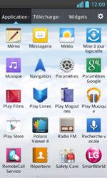 LG Optimus L5 II - Contact, Appels, SMS/MMS - Envoyer un SMS - Étape 3