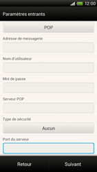 HTC One X - E-mail - Configuration manuelle - Étape 11