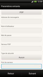 HTC One X Plus - E-mail - Configuration manuelle - Étape 11