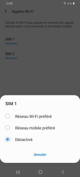 Samsung Galaxy S20 Plus 5G - WiFi - Activez WiFi Calling - Étape 8