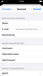 Apple iPhone SE - iOS 13 - E-mail - Handmatig instellen - Stap 19