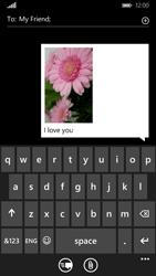 Nokia Lumia 830 - MMS - Sending pictures - Step 12