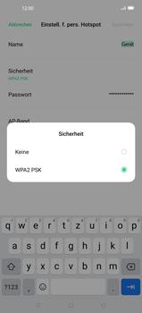 Oppo Find X2 Pro - WiFi - So aktivieren Sie einen WLAN-Hotspot - Schritt 8