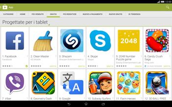 Sony Xperia Tablet Z2 LTE - Applicazioni - Installazione delle applicazioni - Fase 8