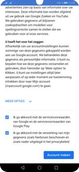 Huawei P30 Pro - Applicaties - Account instellen - Stap 15