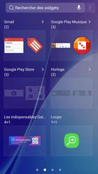 Samsung Galaxy A5 (2016) - Android Nougat - Prise en main - Installation de widgets et d