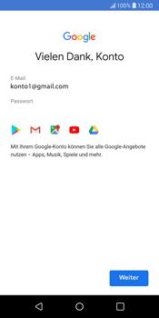 LG G6 - Apps - Konto anlegen und einrichten - 19 / 22