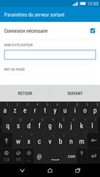 HTC Desire 820 - E-mails - Ajouter ou modifier un compte e-mail - Étape 13