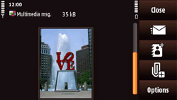 Nokia N97 Mini - MMS - Sending pictures - Step 16