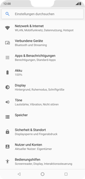 Nokia 6.1 Plus - WLAN - Manuelle Konfiguration - 4 / 10