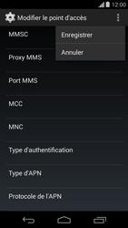 Motorola Moto G - MMS - configuration manuelle - Étape 16
