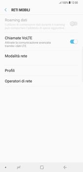 Samsung Galaxy S8 Plus - Android Oreo - Internet e roaming dati - Disattivazione del roaming dati - Fase 7
