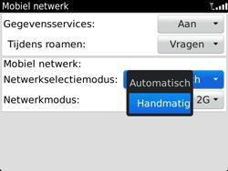 BlackBerry 9900 Bold Touch - Netwerk - Handmatig netwerk selecteren - Stap 9
