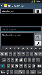 Samsung I9505 Galaxy S4 LTE - MMS - Erstellen und senden - Schritt 13