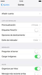 Apple iPhone 6s iOS 10 - E-mail - Configurar Gmail - Paso 4