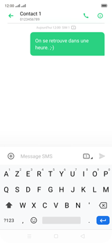 Oppo Reno 2Z - Contact, Appels, SMS/MMS - Envoyer un SMS - Étape 12