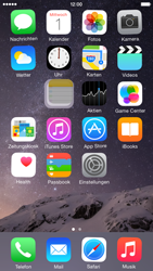 Apple iPhone 6 iOS 8 - Startanleitung - Personalisieren der Startseite - Schritt 4