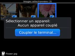 BlackBerry 9320 - Photos, vidéos, musique - Envoyer une photo via Bluetooth - Étape 13