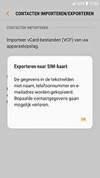 Samsung Galaxy S6 - Android Nougat - Contacten en data - Contacten kopiëren van toestel naar SIM - Stap 9