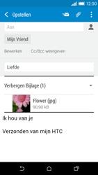 HTC Desire 610 - e-mail - hoe te versturen - stap 16