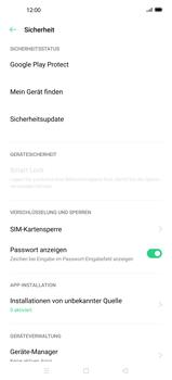 Oppo Find X2 - Startanleitung - So aktivieren Sie eine SIM-PIN - Schritt 5