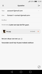 Huawei Honor 8 - e-mail - hoe te versturen - stap 17