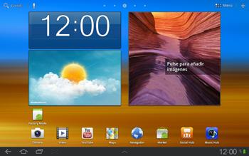 Samsung P7500 Galaxy Tab 10-1 - Primeros pasos - Quitar y colocar la batería - Paso 1