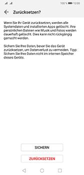 Huawei Mate 20 - Fehlerbehebung - Handy zurücksetzen - Schritt 9