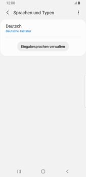 Samsung Galaxy S9 - Android Pie - Startanleitung - So fügen Sie eine Tastatursprache hinzu - Schritt 9