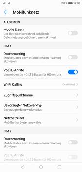 Huawei P20 - Internet und Datenroaming - Prüfen, ob Datenkonnektivität aktiviert ist - Schritt 5