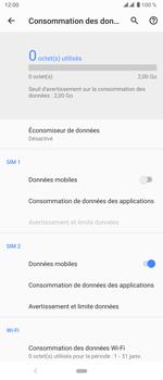 Sony Xperia 5 - Internet et roaming de données - Comment vérifier que la connexion des données est activée - Étape 6