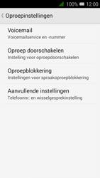 Alcatel OT-4027X Pixi 3 (4.5) - Voicemail - handmatig instellen - Stap 6