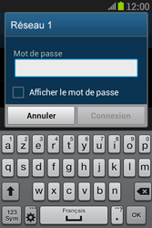 Samsung S6310 Galaxy Young - Wifi - configuration manuelle - Étape 6