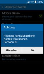 Samsung Galaxy Trend 2 Lite - Ausland - Im Ausland surfen – Datenroaming - 9 / 12